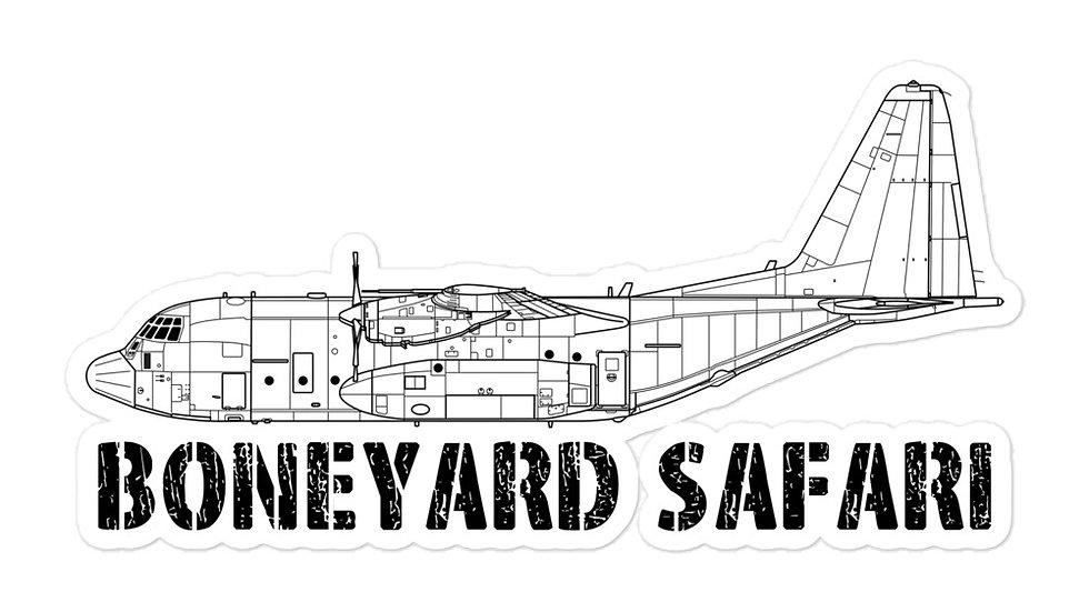 Boneyard Safari C-130H sticker