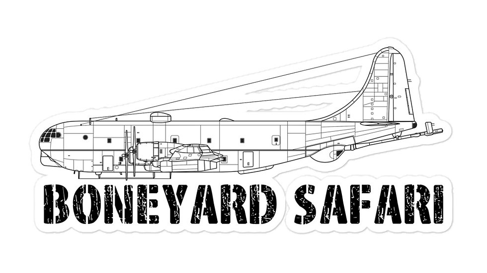 Boneyard Safari KC-97L Sticker
