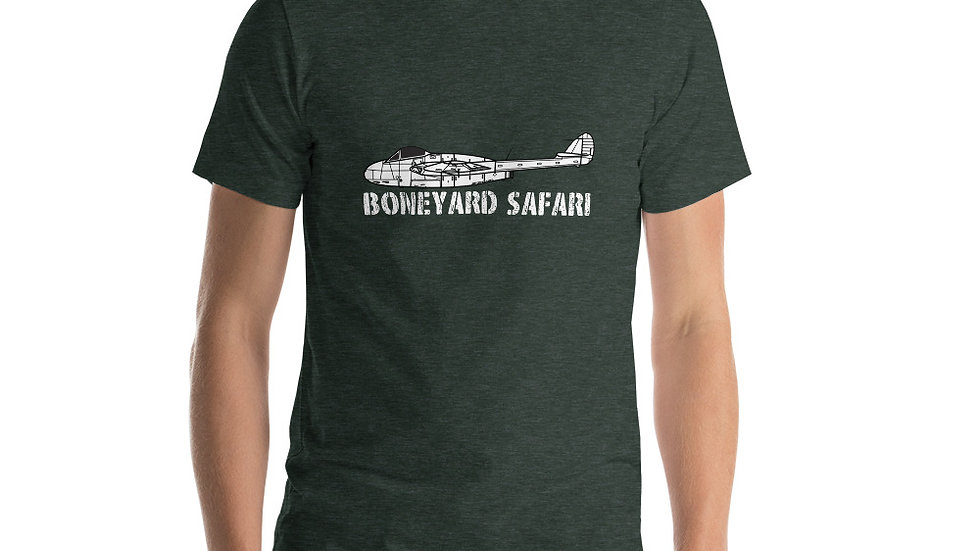 Boneyard Safari de Havilland Vampire Short-Sleeve Unisex T-Shirt