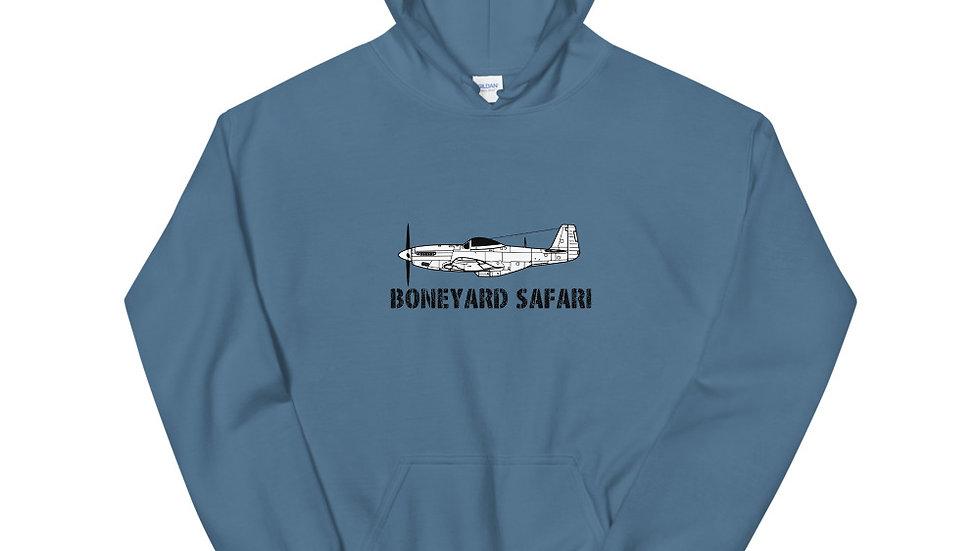 Boneyard Safari P-51 Hoodie