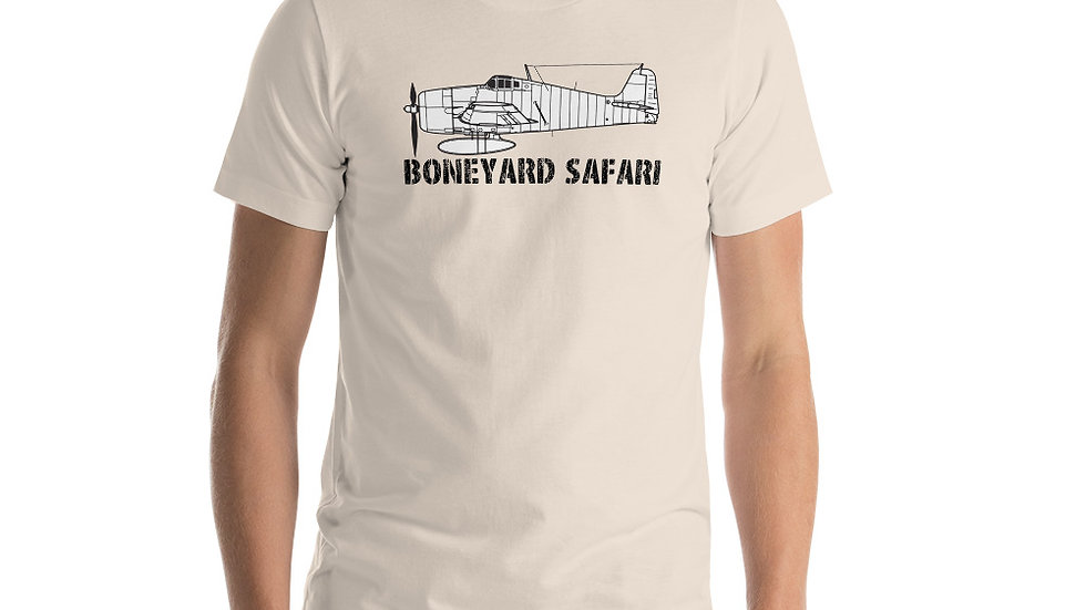 Boneyard Safari F6F Short-Sleeve Unisex T-Shirt