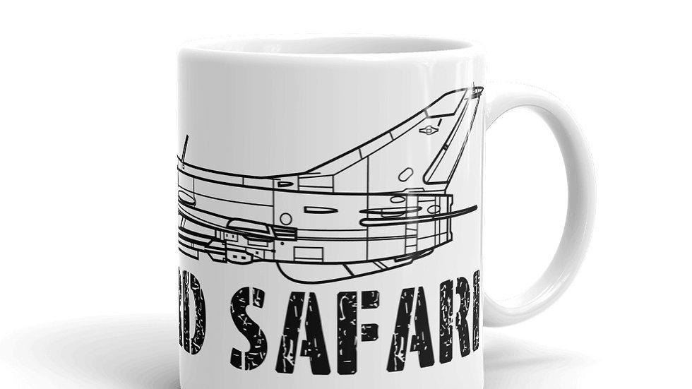 Boneyard Safari MiG-21 Coffee Mug