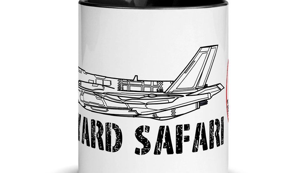 Boneyard Safari F-35A Coffee Mug with Color Inside