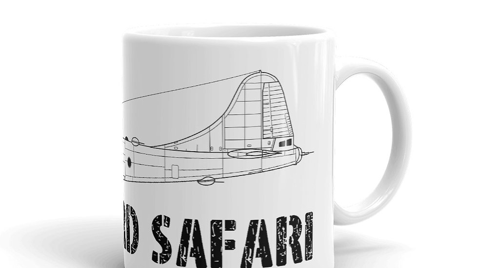 Boneyard Safari B-29 Coffee Mug
