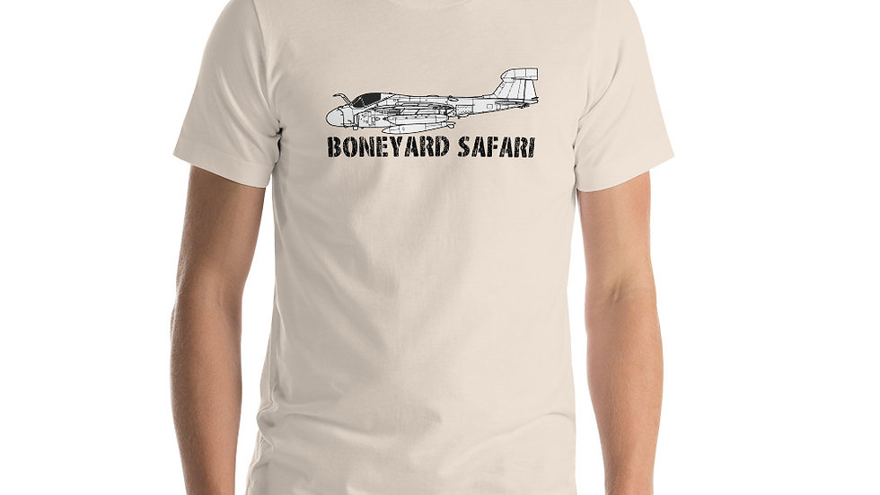 Boneyard Safari EA-6A Short-Sleeve Unisex T-Shirt