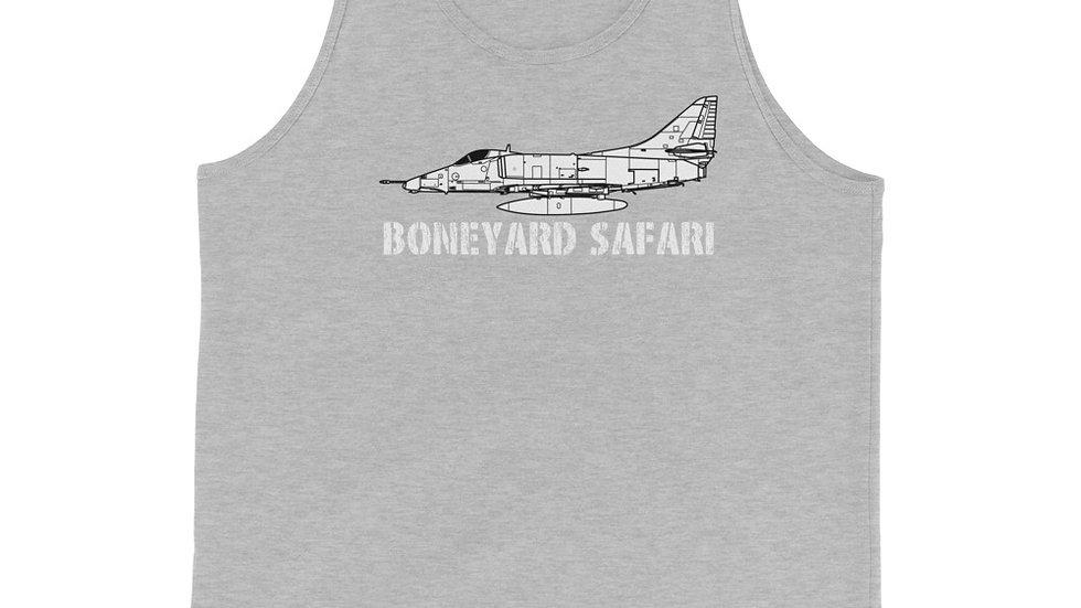 Boneyard Safari A-4E Unisex Tank Top