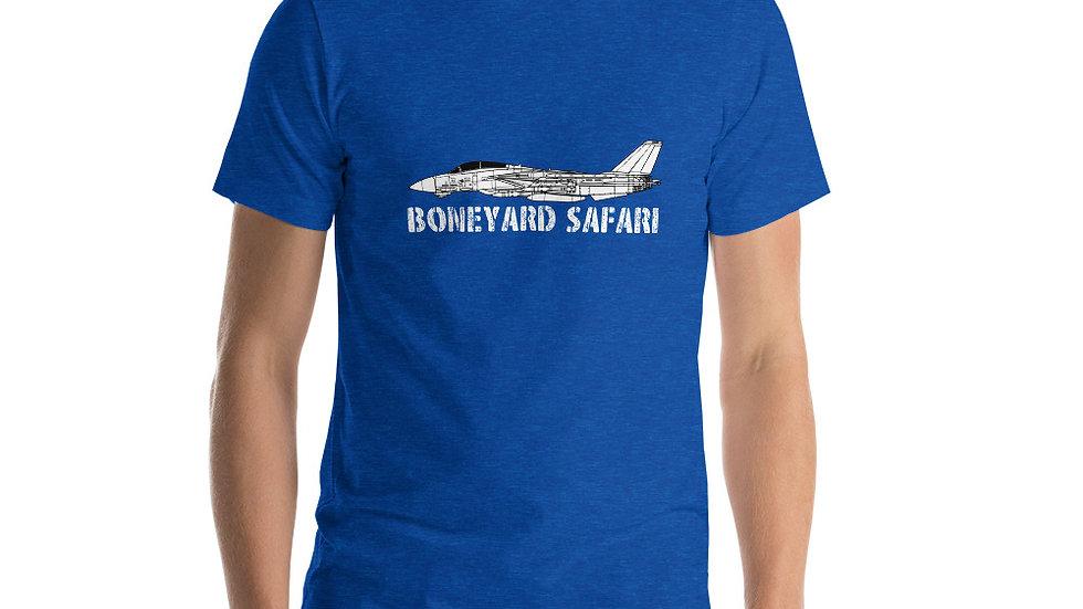 Boneyard Safari F-14D VF-31 Short-Sleeve Unisex T-Shirt