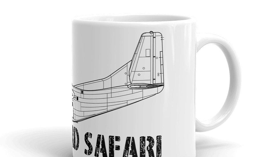 Boneyard Safari C-123 Coffee Mug