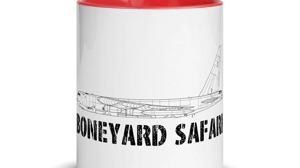 Boneyard Safari B-52D SAC Coffee Mug with Color Inside