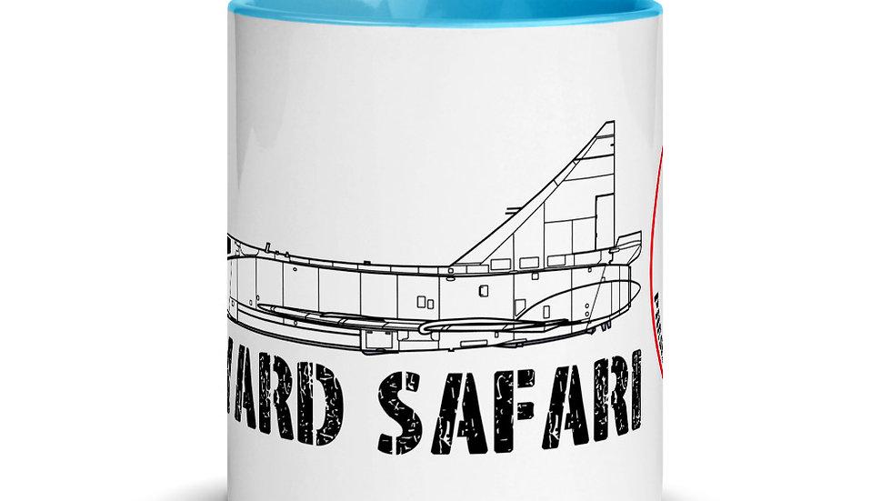 Boneyard Safari F-102 Coffee Mug with Color Inside