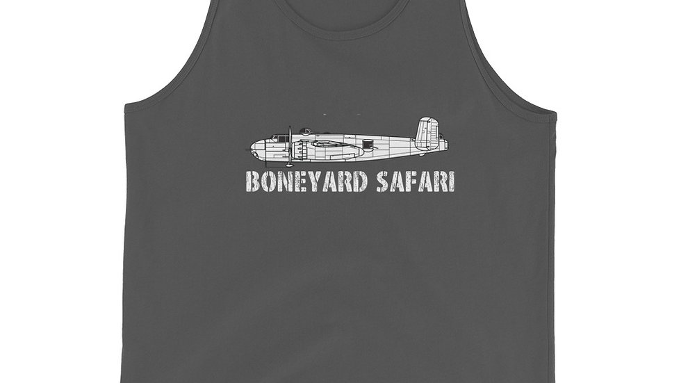 Boneyard Safari B-25H Unisex Tank Top
