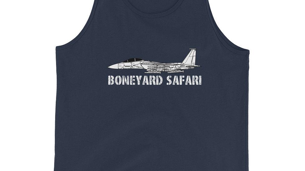 Boneyard Safari F-15EX Eagle II Unisex Tank Top
