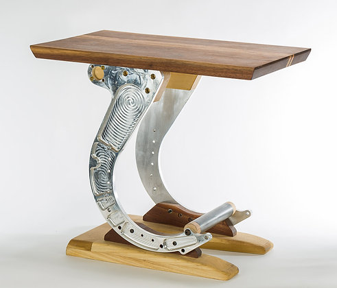 Hand-Crafted P-3 Aviation End Table
