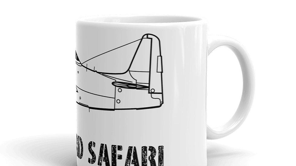 Boneyard Safari F8F Bearcat Coffee Mug