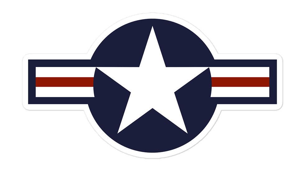 USA Roundel sticker