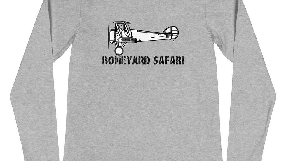 Boneyard Safari Sopwith Camel Unisex Long Sleeve Tee