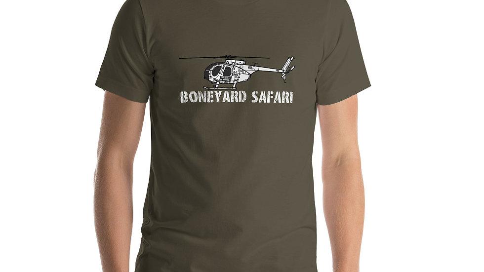 Boneyard Safari AH-6 Short-Sleeve Unisex T-Shirt