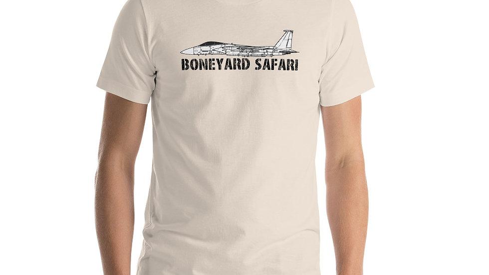 Boneyard Safari F-15C Short-Sleeve Unisex T-Shirt