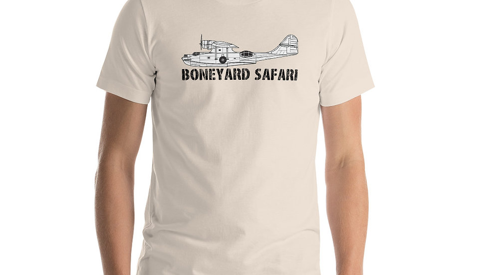 Boneyard Safari PBY Short-Sleeve Unisex T-Shirt