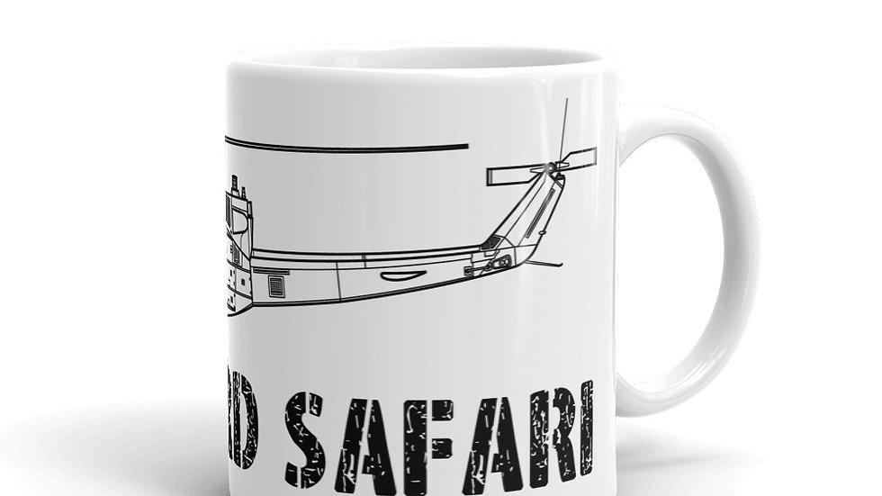Boneyard Safari UH-1N coffee mug