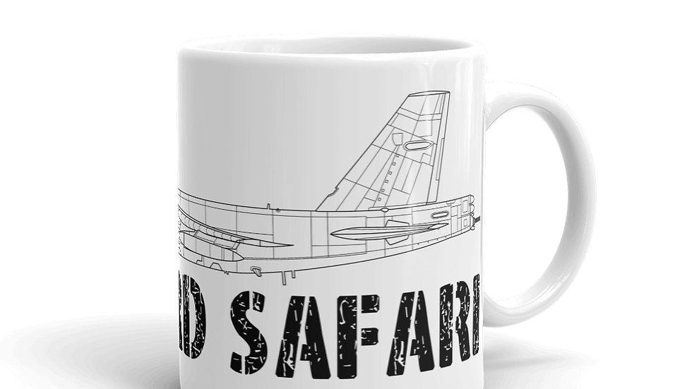 Boneyard Safari B-52G Coffee Mug