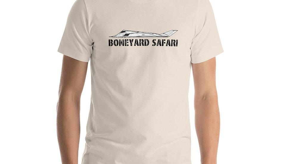 Boneyard Safari  F-117 Short-Sleeve Unisex T-Shirt