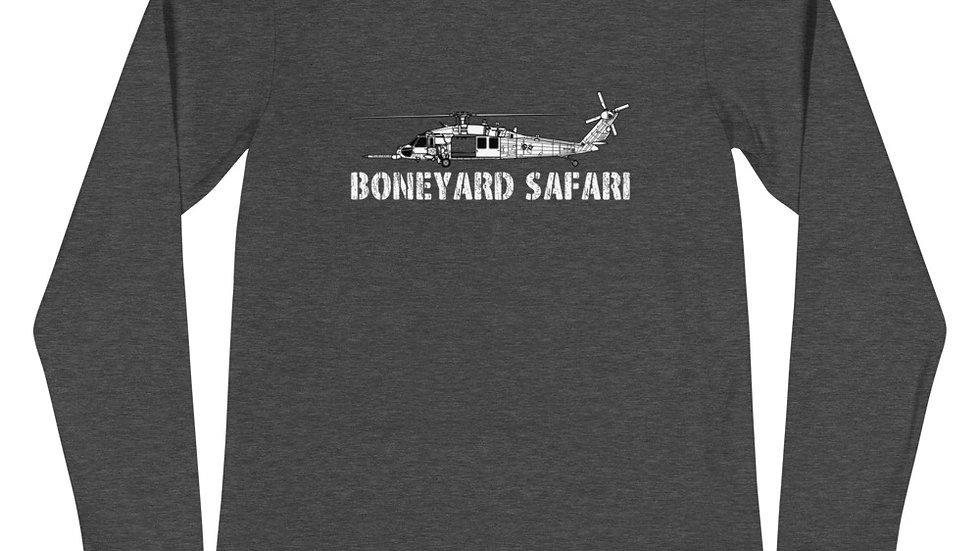 Boneyard Safari HH-60G Unisex Long Sleeve Tee