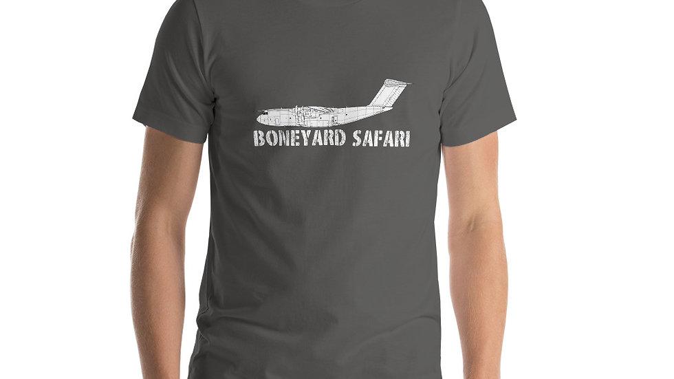 Boneyard Safari A400M Short-Sleeve Unisex T-Shirt