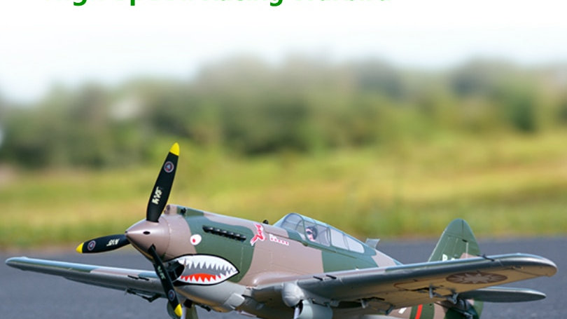 P-40 Flying Tiger 6CH With Reflex Gyro Flaps 4S PNP RC Airplane FMS 980mm