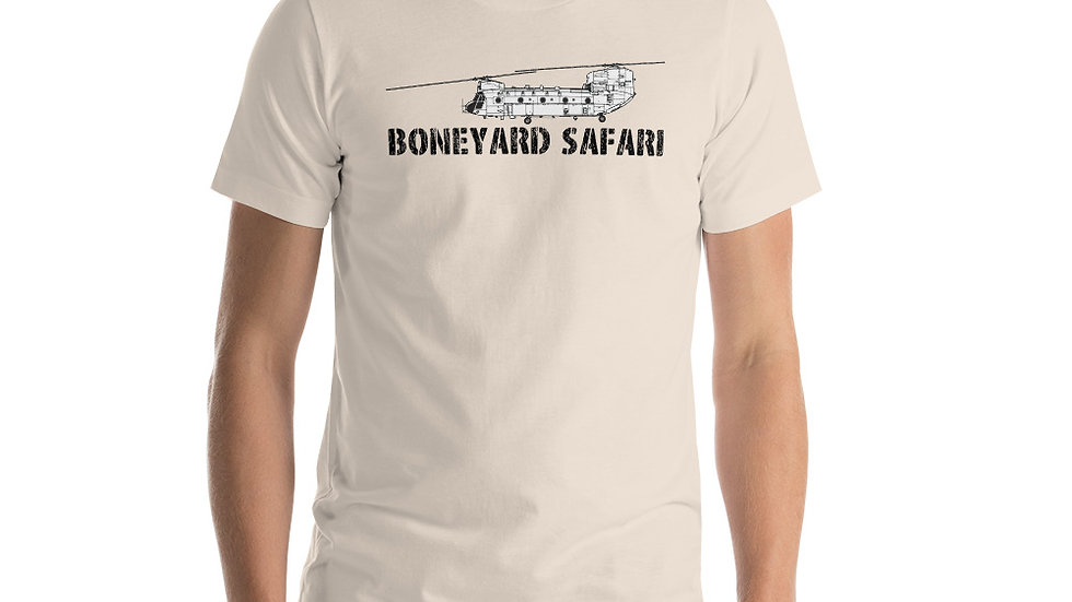 Boneyard Safari CH-47 Short-Sleeve Unisex T-Shirt