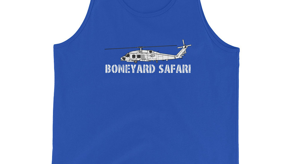 Boneyard Safari SH-60B Unisex Tank Top