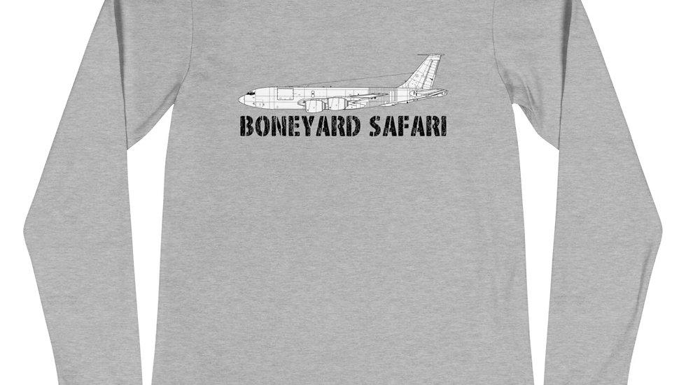 Boneyard Safari KC-135R Unisex Long Sleeve Tee