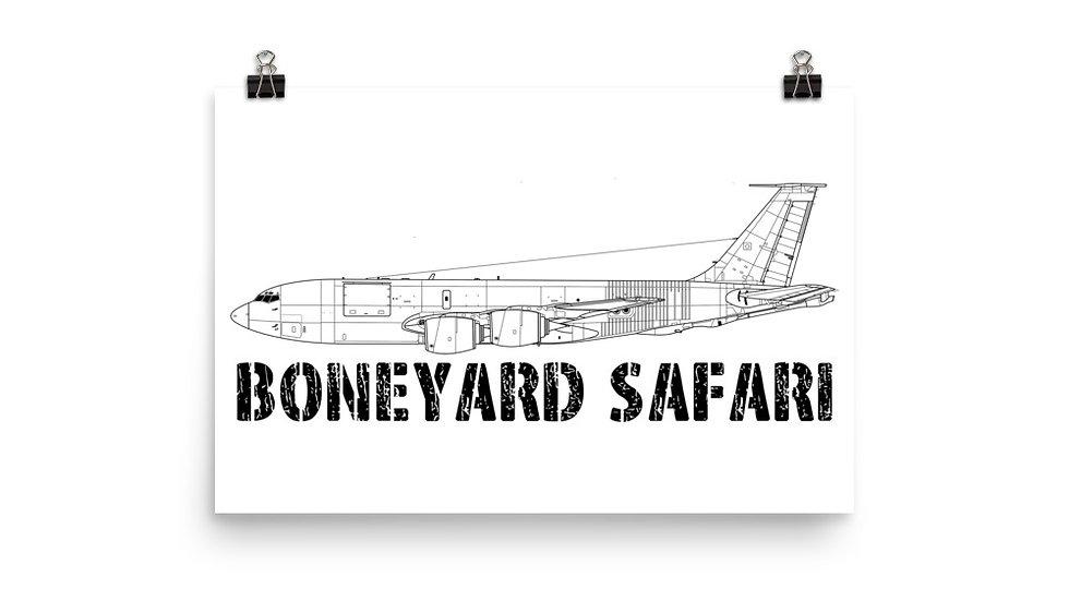 Boneyard Safari KC-135R Poster