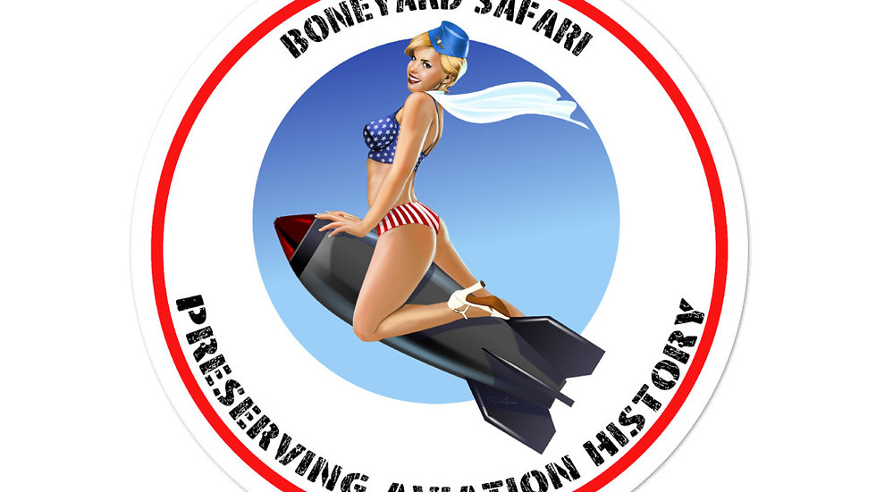 Boneyard Safari Sticker
