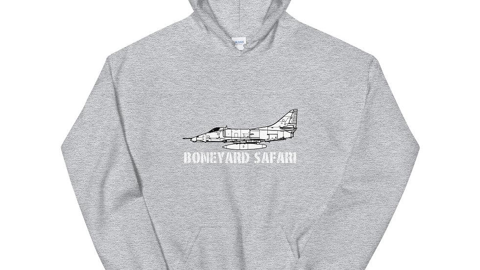 Boneyard Safari A-4E Unisex Hoodie