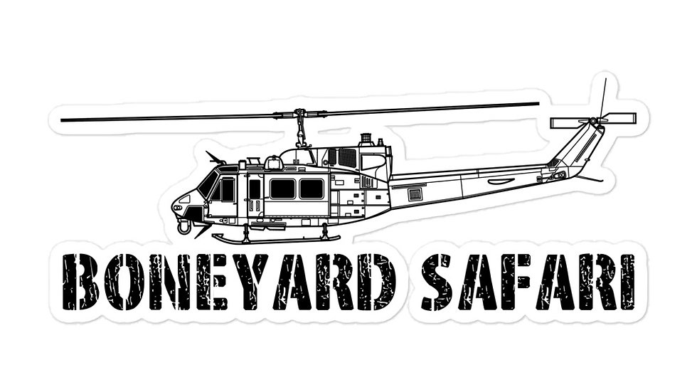 Boneyard Safari UH-1N Sticker