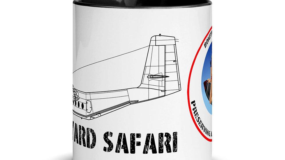 Boneyard Safari C-7 Caribou Mug with Color Inside