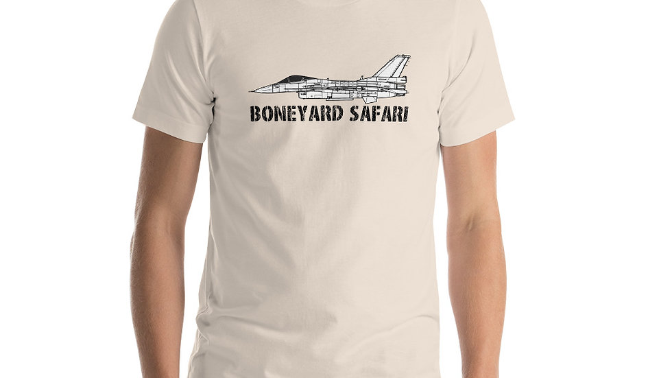Boneyard Safari F-2A Short-Sleeve Unisex T-Shirt