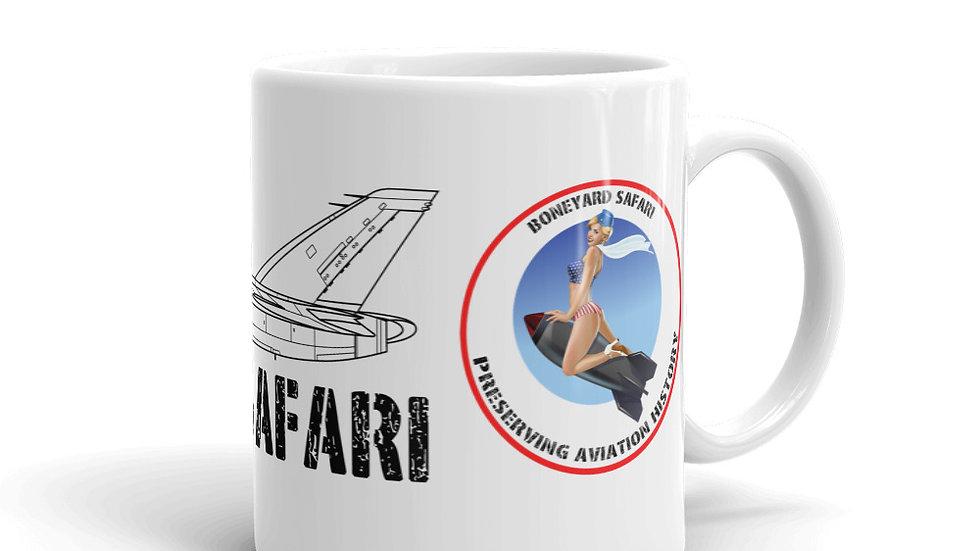 Boneyard Safari Avro Canada CF-105 ARROW coffee mug