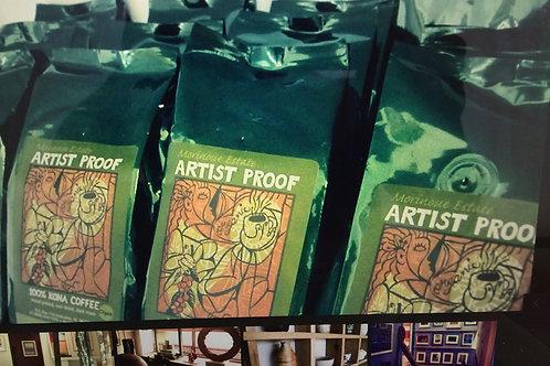 Artist Proof  -  100% Organic Kona Coffee (1lb)