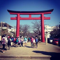 Buddhist Arches Kamakura outside of Tokyo