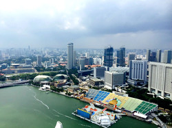 Singapore View from Marina Bay Sands