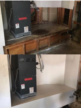 Before and After Drywall Restoration
