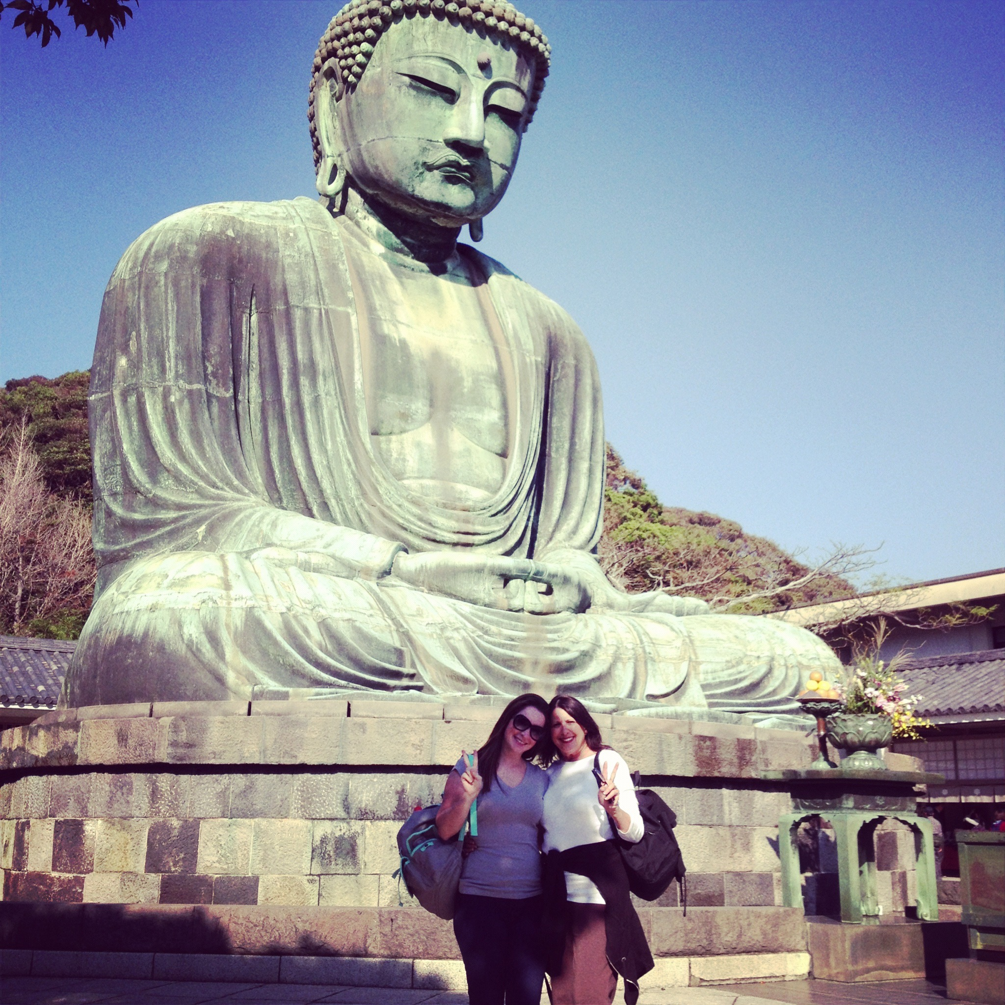 Buddha Kamakura Japan outside of Tokyo