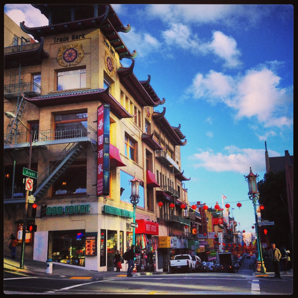 Chinatown San Francisco during Chinese New Year