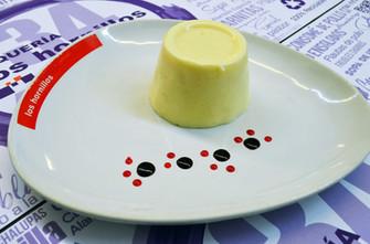 Gelatina piña y queso