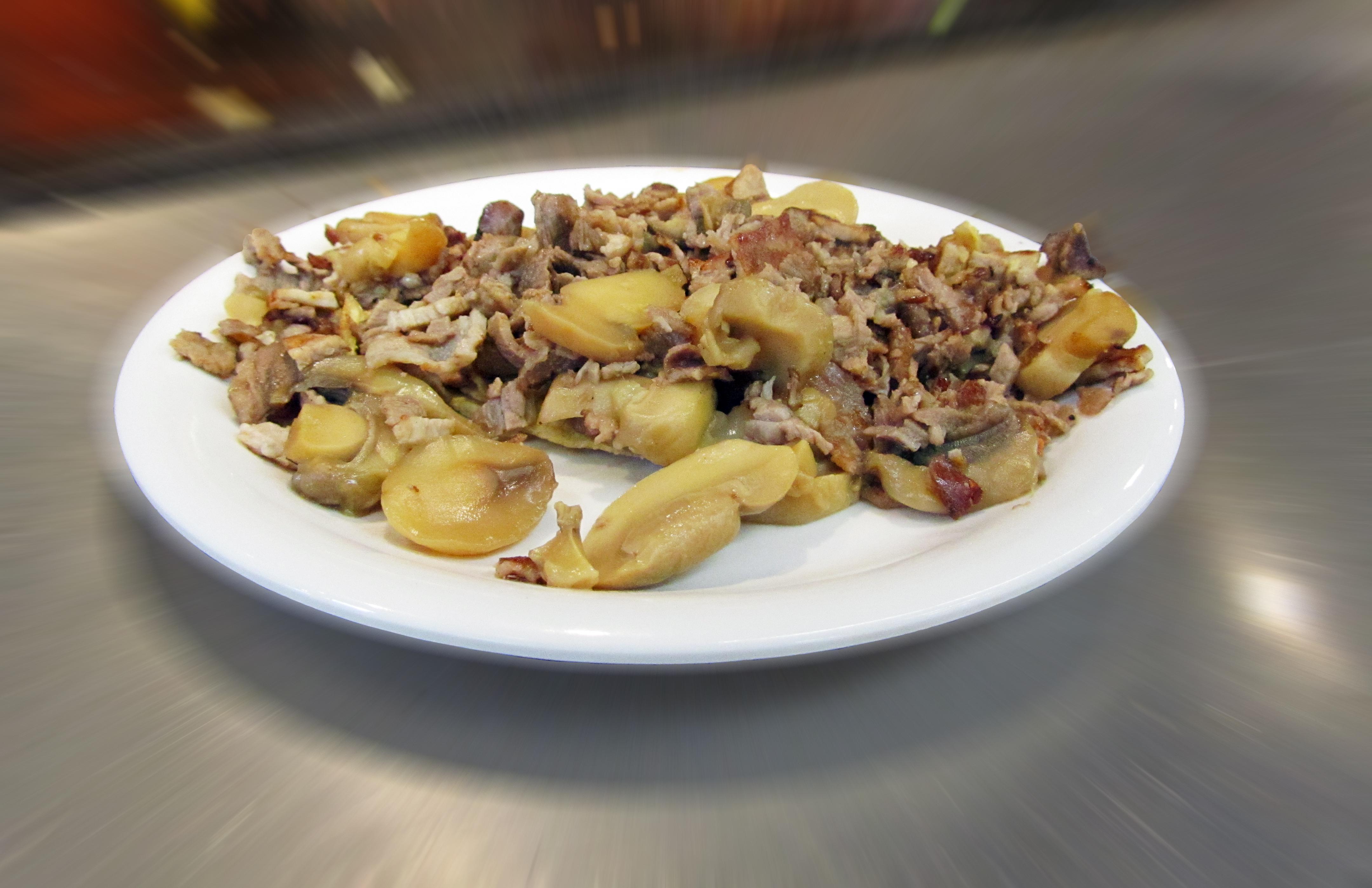 Beef  whit mushrooms