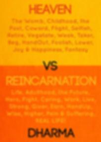 Heaven Vs Reincarnation Book Cover