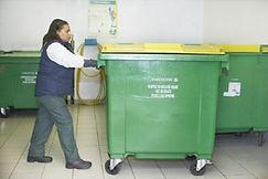 sortie de poubelles