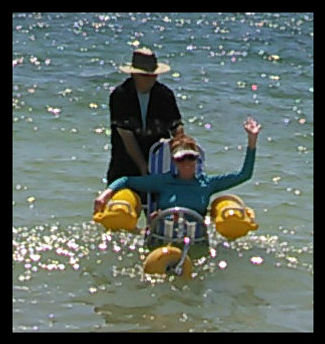 Floating Wheelchair
